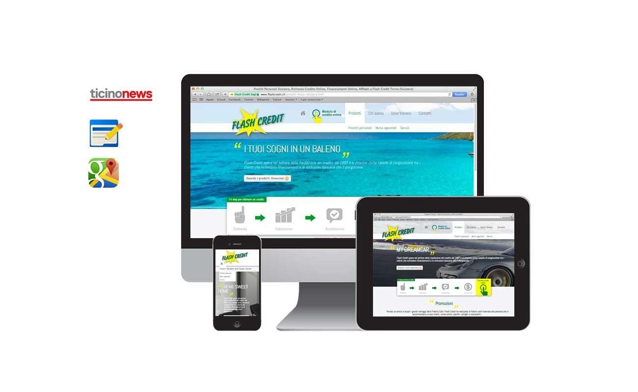 Siti web ticino: flasch credit