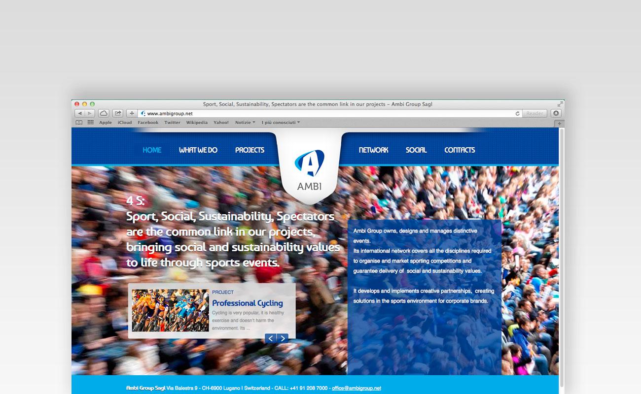Siti web ticino: Ambi group