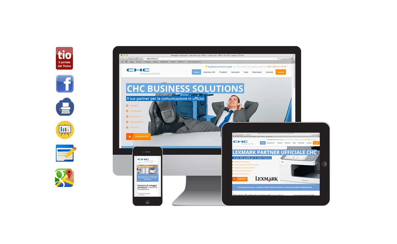 Siti web ticino: chc business solutions