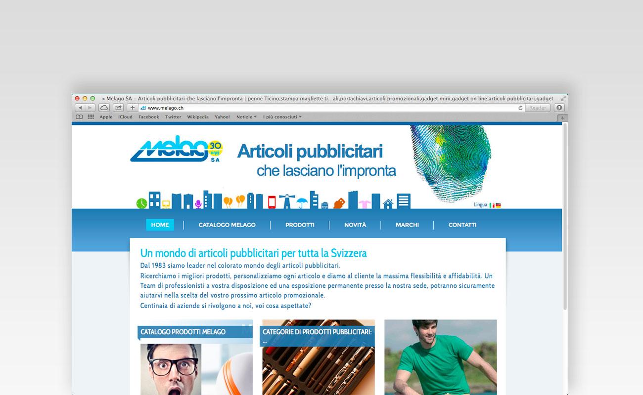 Siti web ticino: Melago SA
