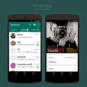 whatsapp--material-design