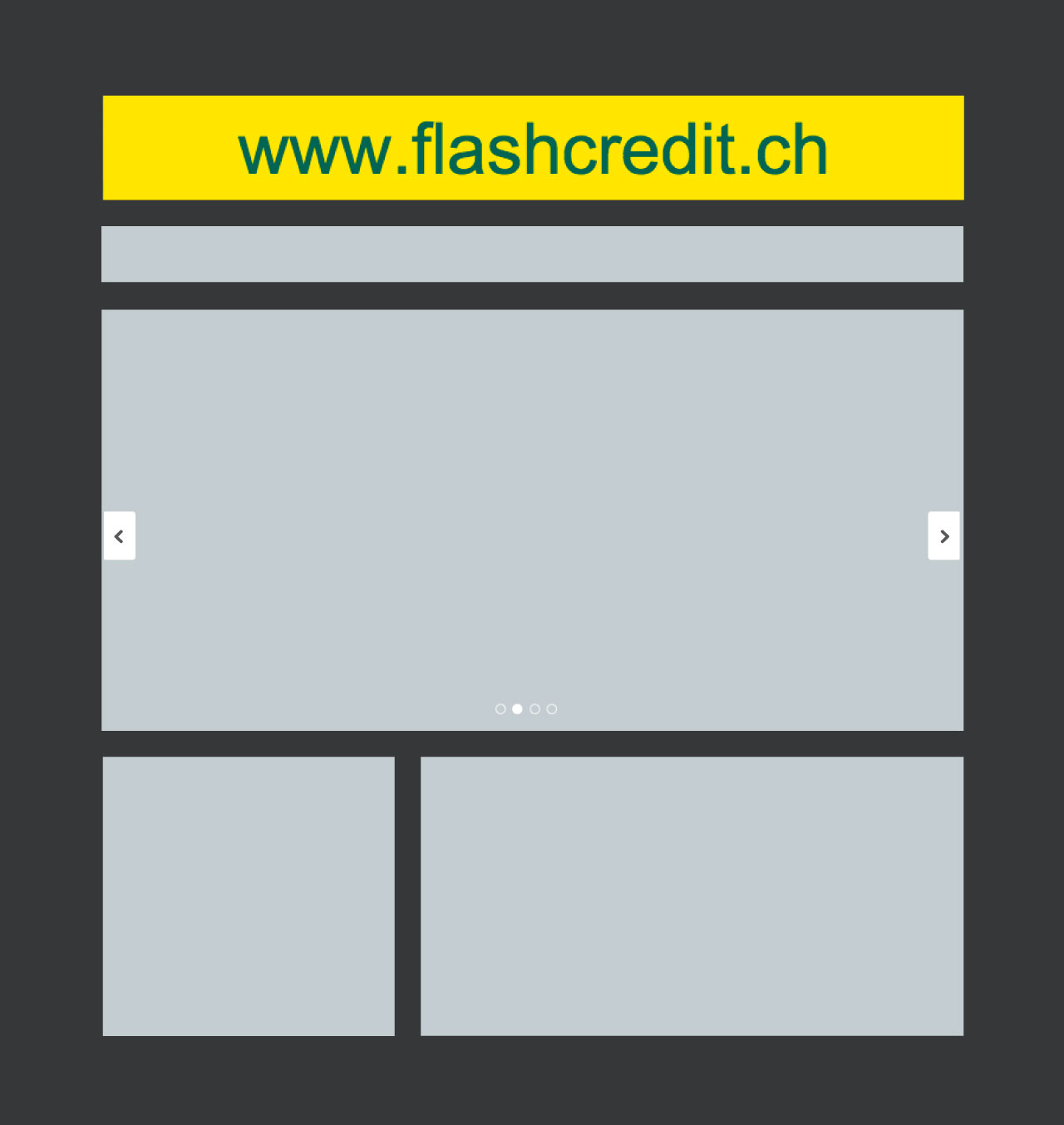 Banner Flash Credit leaderboard CDT